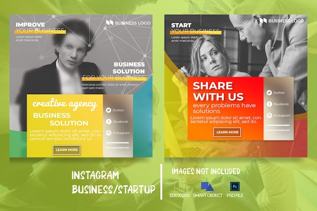 Business marketing web-social-media-banner