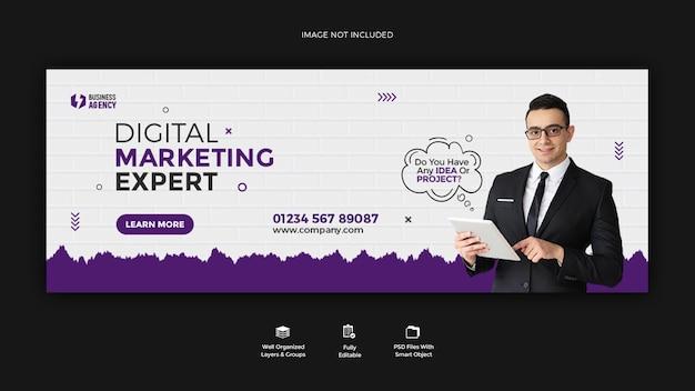 Business promotion und corporate instagram story banner vorlage design
