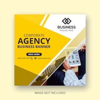 Business social media banner design