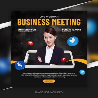 Business-social-media-werbung für instagram-story-vorlage