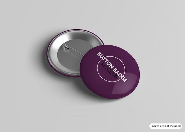 Button-abzeichen-modell