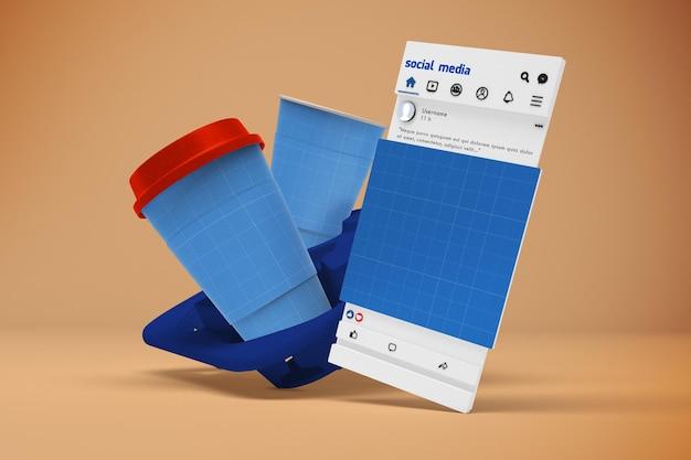Café social media v1