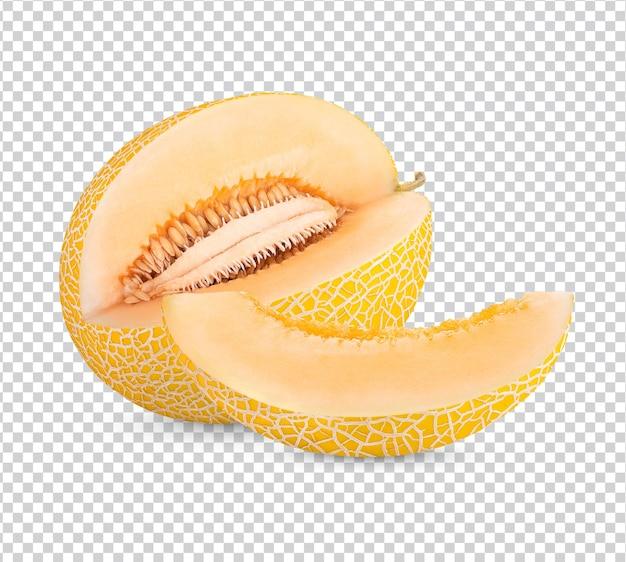 Cantaloupe isoliert