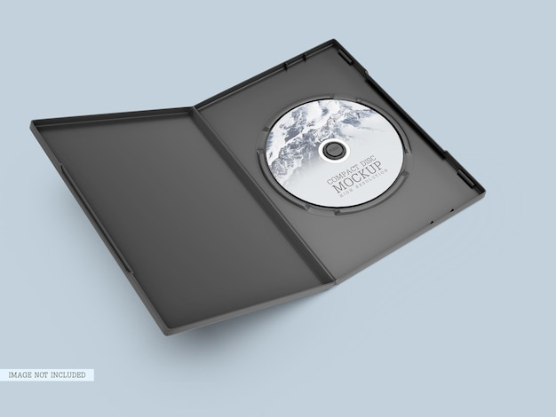 Cd mit cover-modell