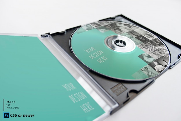 Cd-paket mock-up