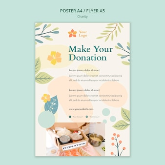 Charity poster design