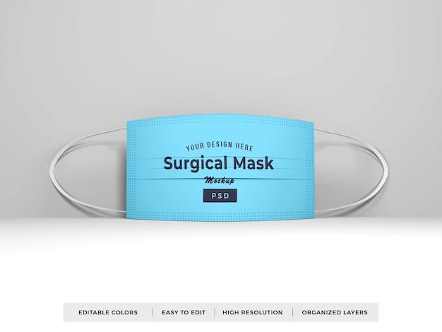 Chirurgische gesichtsmaske modell
