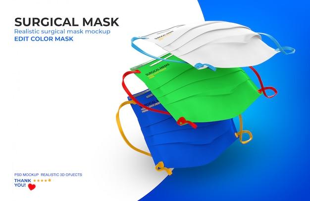 Chirurgische maske modell