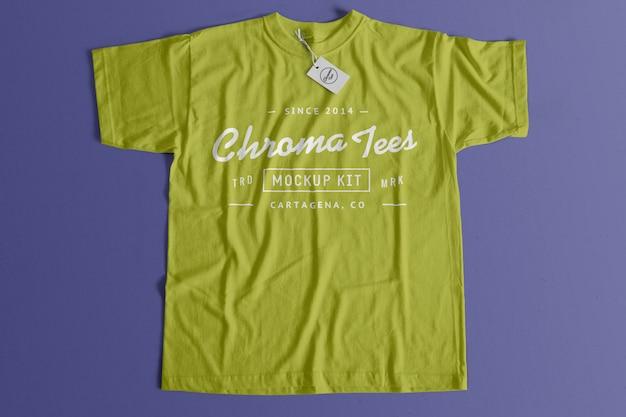 Chromatiert-shirt modell