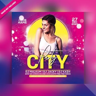 City party flyer