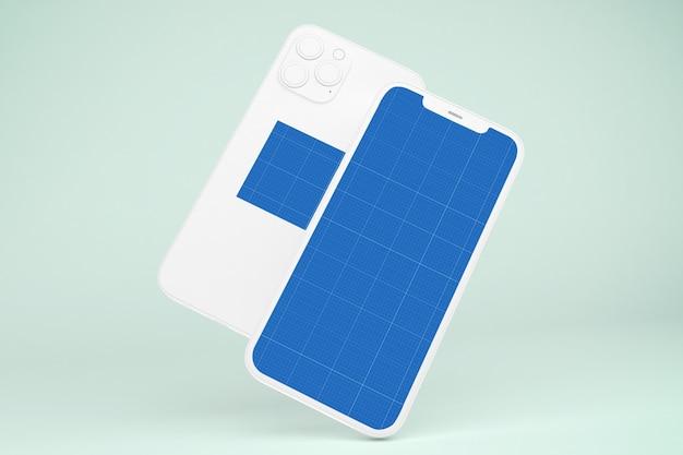 Clay phone 12 mockup