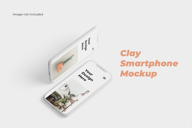 Clay smartphone-modell