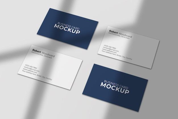 Clean & modern visitenkartenmodell
