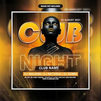 Club-nacht-dj-party-flyer-vorlage