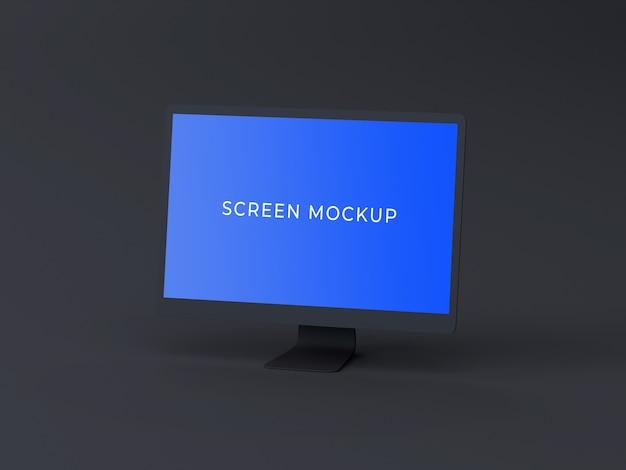 Computer bildschirm mock-up