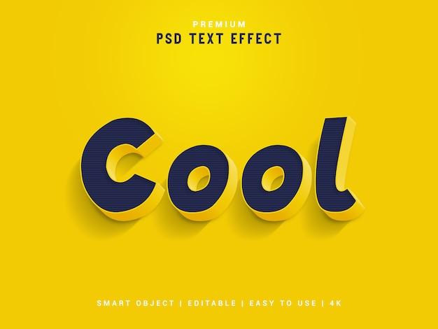 Cooler textstil