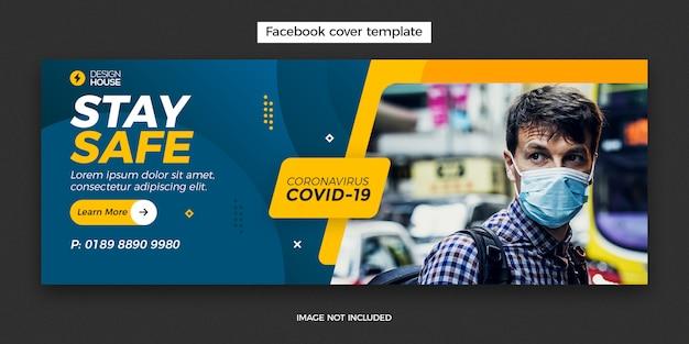 Coronavirus-banner-vorlage