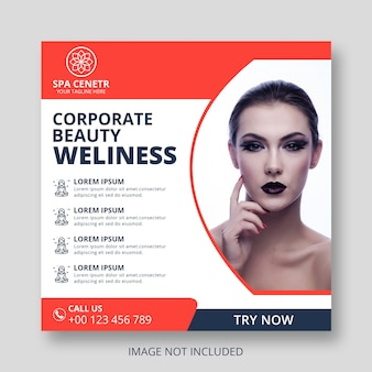 Corporate beauty weliness set