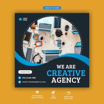 Corporate business-social-media-flyer-vorlage