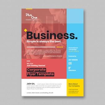 Corporate flyer vorlage