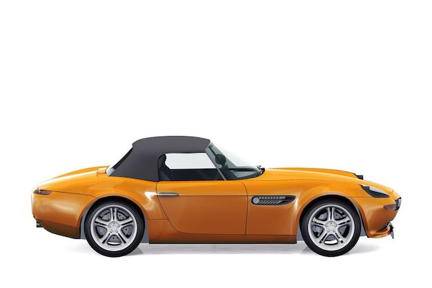Coupé auto 2003 modell