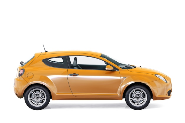 Coupé auto 2009 modell