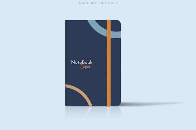 Cover notebook-vorlagen für die geschäftspräsentation