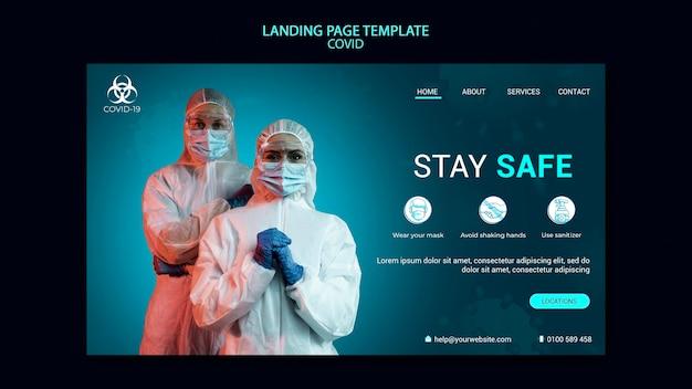 Covid landing page