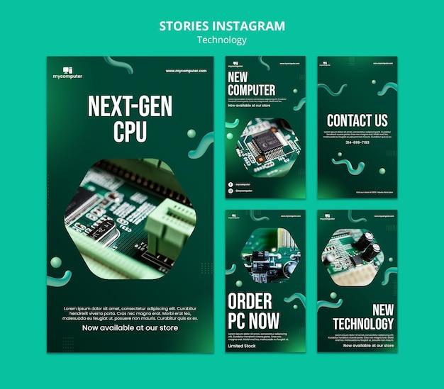 Cpu-instagram-geschichten der nächsten generation
