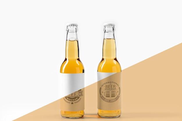 Craft beer arrangement konzept modell