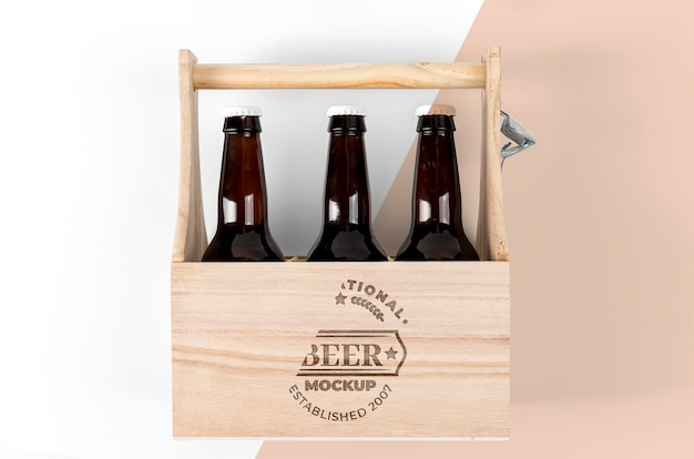 Craft beer konzept modell