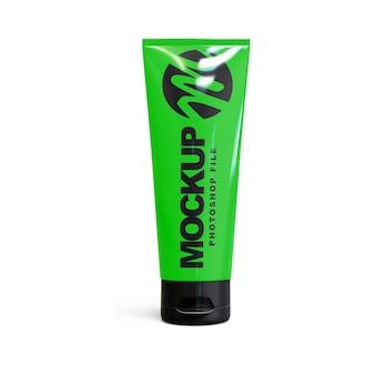 Cream tube mockup isoliert