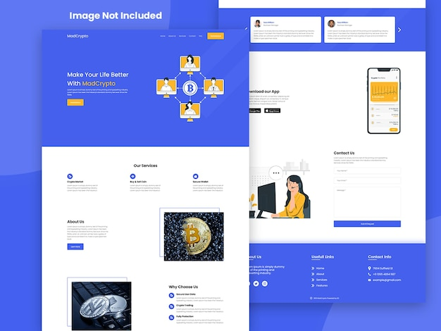 Creative business-landingpage