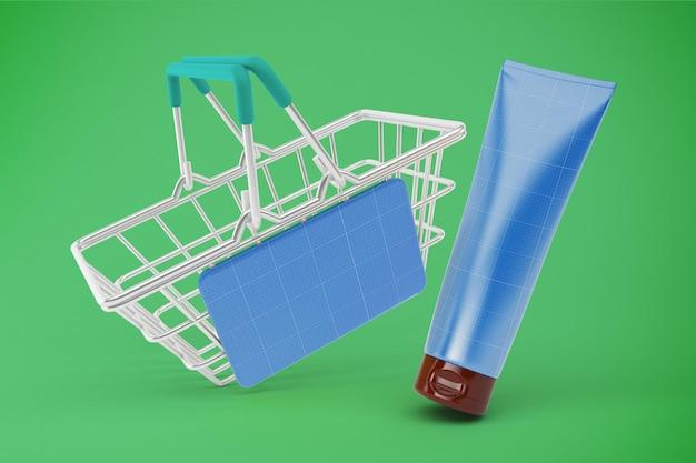 Creme tube shopping