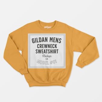 Crewneck herren sweatshirt