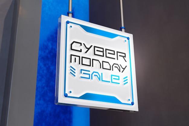 Cyber montag verkauf modell