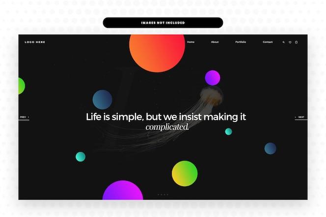 Das leben ist einfach website