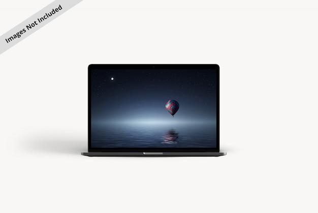 Das perfekte modell für einen laptop