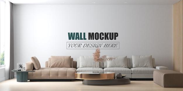 Das wohnzimmer ist luxuriös und modern eingerichtet