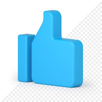 Daumen hoch 3d-symbol