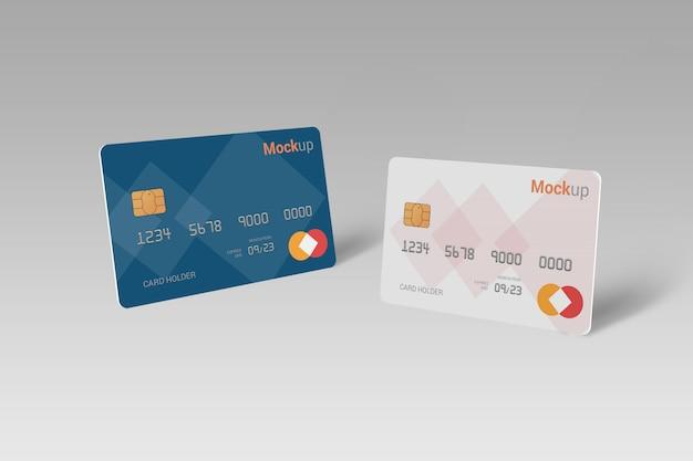 Debitkarte, kreditkarte, smartcard-modell