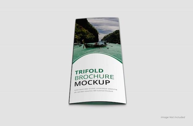 Deckblatt trifold brochure mockup