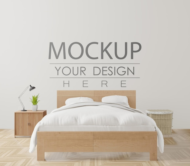 Dekoratives schlafzimmerinnenwandmodell