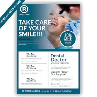 Dental flyer vorlage