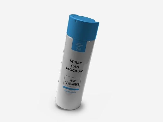 Deodorant-aerosol-flaschen-spray-mockup isoliert