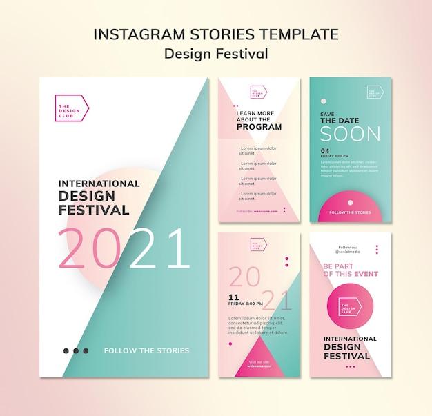 Design festival social media geschichten