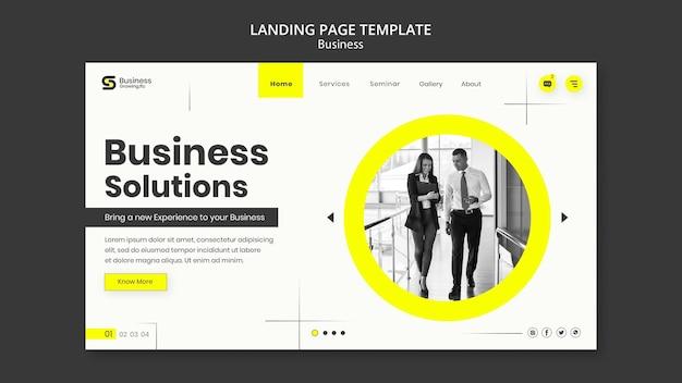 Design von landingpage-business-vorlagen