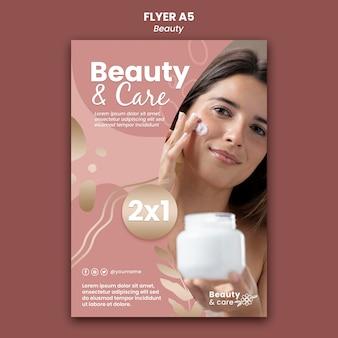 Designvorlage für beauty-flyer
