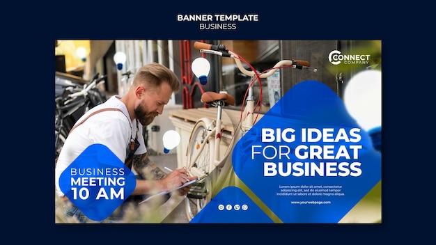 Designvorlage für business-banner