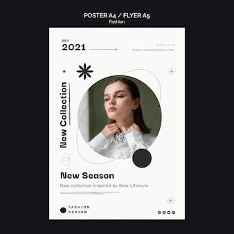 Designvorlage für modeplakate
